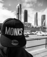 Gorra Snapback Monks Palo Negra